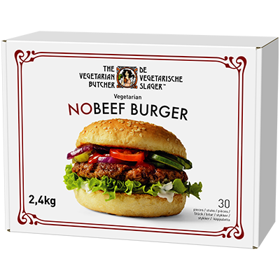 The Vegetarian Butcher NoBeef Burger, 2,4 kg (30x80g) -