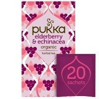 Pukka Elderberry Echinacea ØKO 4x20 breve -