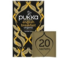 Pukka Elegant English Breakfast ØKO 4x20 breve -