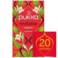 Pukka Revitalise ØKO 4x20 breve -