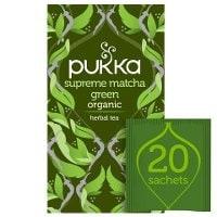 Pukka Supreme Matcha Green ØKO 4x20 breve -