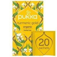 Pukka Turmeric Gold ØKO 4x20 breve -