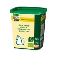 Knorr Økologisk Hønsebouillon, lavsalt, granulat, 1kg / 125L -