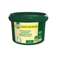 Knorr Økologisk Hønsebouillon, lavsalt, granulat, 5kg / 625 L -