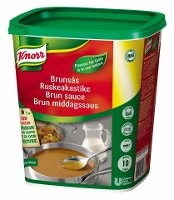Knorr Brun sauce, pasta 1 kg / 10 l