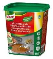 Knorr Grøn pebersauce, pasta 1 kg / 8 L -