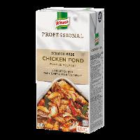 Knorr Professional Kyllingefond 8 x 1L - Tilberedt som du selv ville have gjort. Fra bunden med brunede kødfyldte kyllingeben, urter og grøntsager