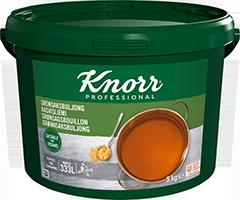 Knorr Grønsagsbouillon, granulat, økonomi 5 kg / 333 L -