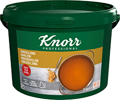 Knorr Hønsebouillon, granulat, økonomi 5 kg / 333 l -