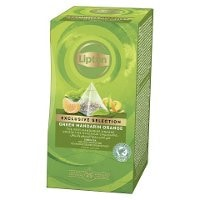 Lipton, Green Tea Mandarine Orange, pyramidete 6x 25 breve -