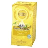 Lipton Rrefreshing Lemon, pyramidete, 6 x 25 breve -