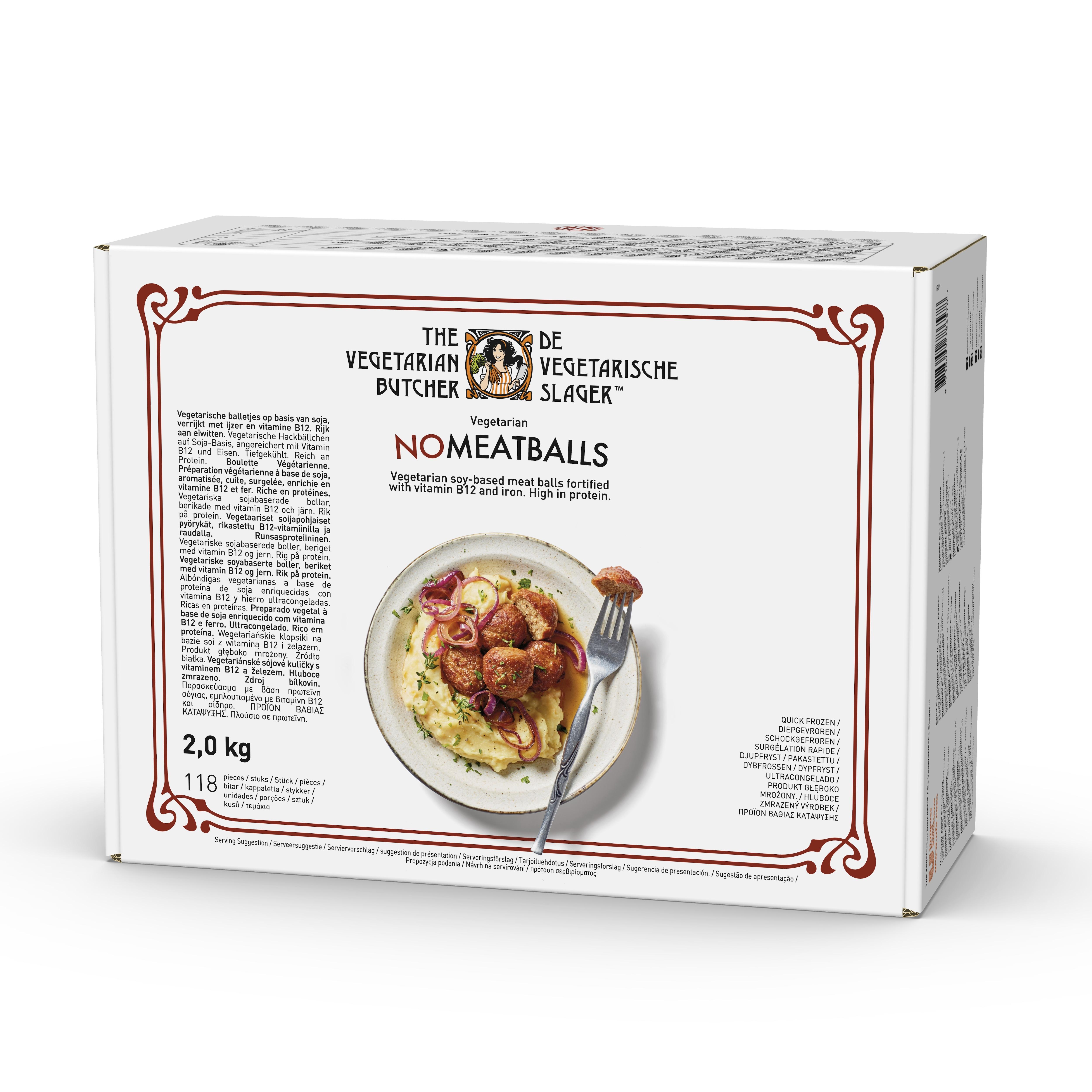 The Vegetarian Butcher NoMeatballs, 2 kg