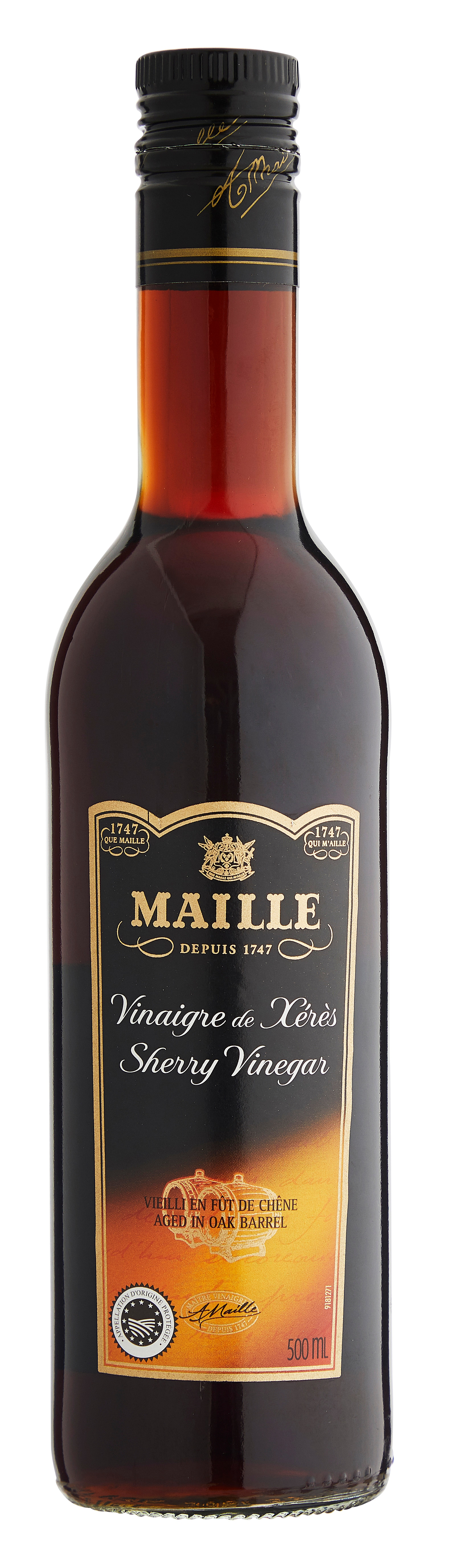 Maille Sherryeddike 6x500ml -