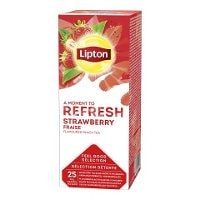 Lipton Strawberry Tea, 6 x 25 breve