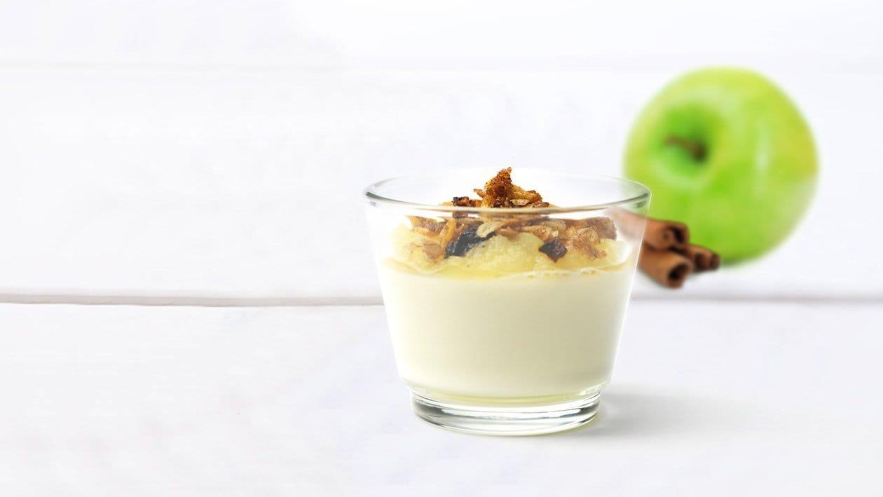 Æble panna cotta