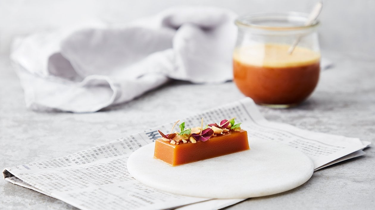 Toffee jellybar med salte peanuts