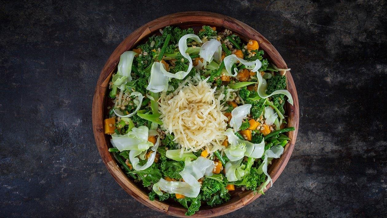 Broccoli-græskarsalat