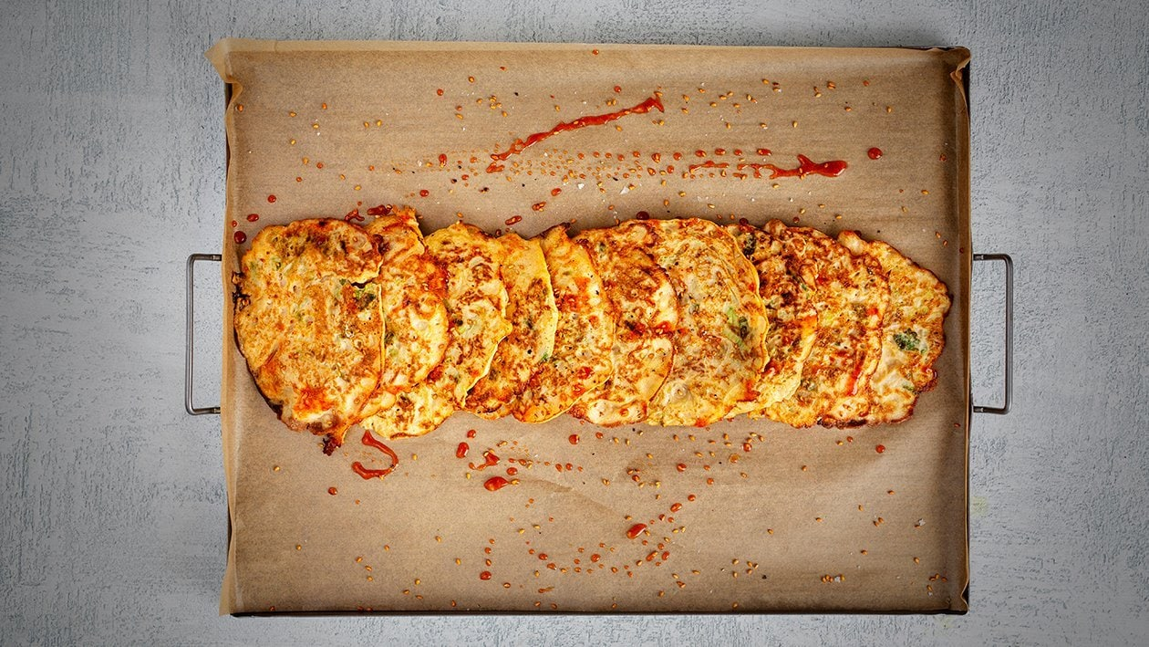 Kimchi-pandekager